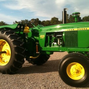 1964 JD 4020 Powershift